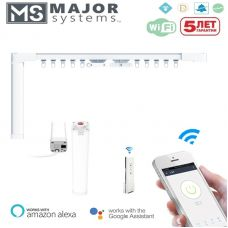 Электрокарнизы MAJOR SYSTEMS MJ серия с Wi-Fi