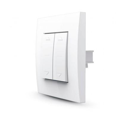 Двойной выключатель для электрокарнизов и рулонных штор MAJOR SYSTEMS