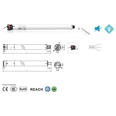 Двигатель Major Systems MSER40Q-8/19 (RF+Wi-Fi)