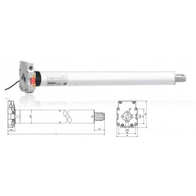 Двигатель Major Systems MSME50-35/13 (RF)