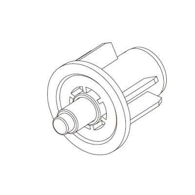 Гильза с цапфой 25 мм M1030
