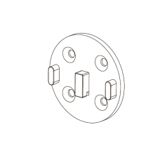 Адаптер для рулонных штор 25 мм M3628
