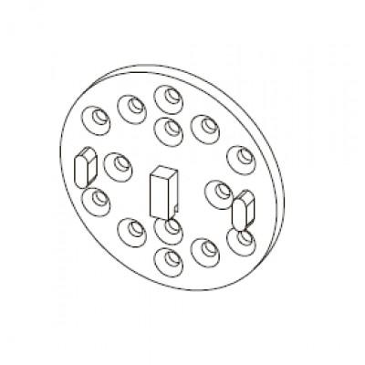 Адаптер для рулонных штор 35 мм M3632