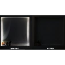 Как сделать рулонные шторы без просветов (полный блэкаут)