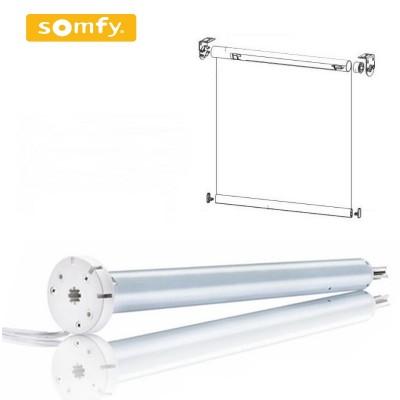 Рулонные шторы с двигателем Somfy Roll Up 28