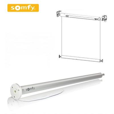 Рулонные шторы с двигателем Somfy SONESSE 30 Wire Free Li-Ion, 12V DC