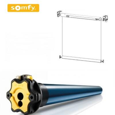 Рулонные шторы с двигателем Somfy SONESSE ULTRA 50