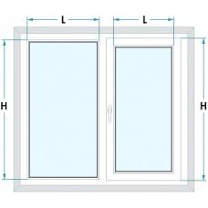 Как правильно замерить ширину рулонной шторы?